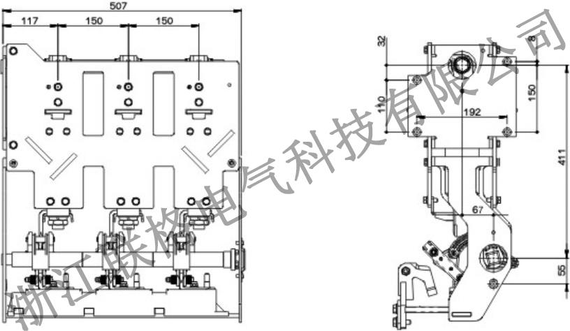 ZLGV-24kV-630A充气柜断路器(带隔离带接地)2.jpg