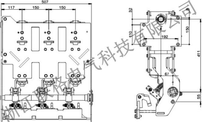 ZLGV-24kV-800A充气柜断路器(带隔离带接地)2.jpg